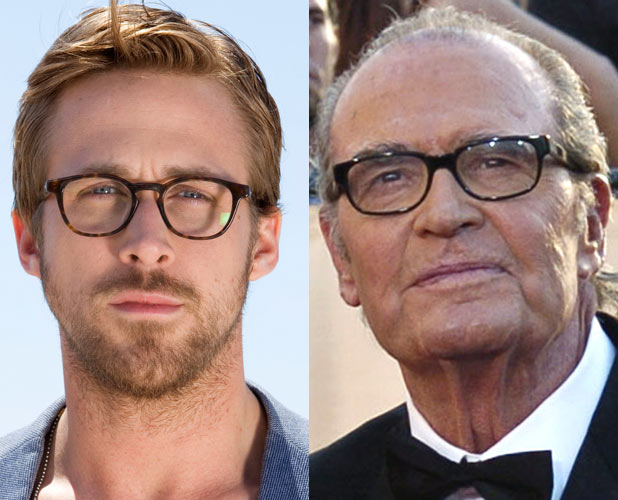 Ryan Gosling and James Garner