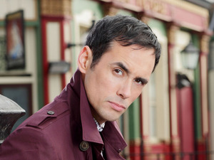 Steve John Shepherd as Michael Moon in EastEnders