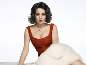 Lindsay Lohan plays Elizabeth Taylor in Liz & Dick