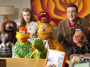 'The Muppets' still Amy Adam Jason Segal