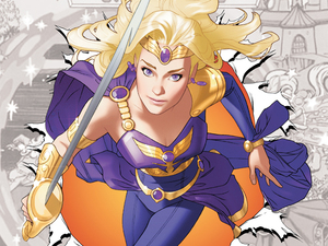 Amethyst Princess of Gemworld Sword of Sorcery