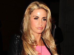Katie Price aka Jordan leaving Zuma restaurant London