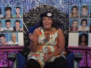 Big Brother Day 5: Becky in the diary room.