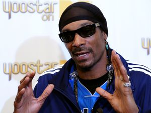 Snoop Dogg, Snoop Dogg unveils Yoostar on MTV on Kinect for Xbox 360 at the 2011 E3 Expo, Los Angeles