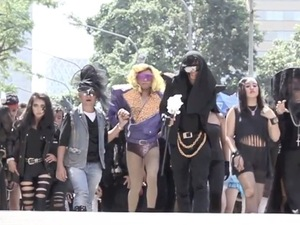 Lady GaGa flashmob in Indonesia