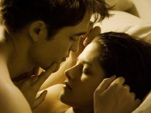 Robert Pattinson, Kristen Stewart, Breaking Dawn