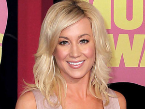 Kellie Pickler arriving at the 2012 CMT Music Awards in Nashville