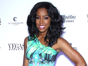 Kelly Rowland celebrates the 9th anniversary of Vegas magazine.