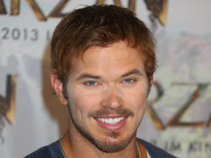 Kellan Lutz Press conference to promote their new movie 'Tarzan' which will start filming at Bavaria Film Studios Munich, Germany