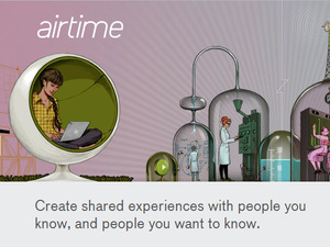 Airtime video chat network screenshot