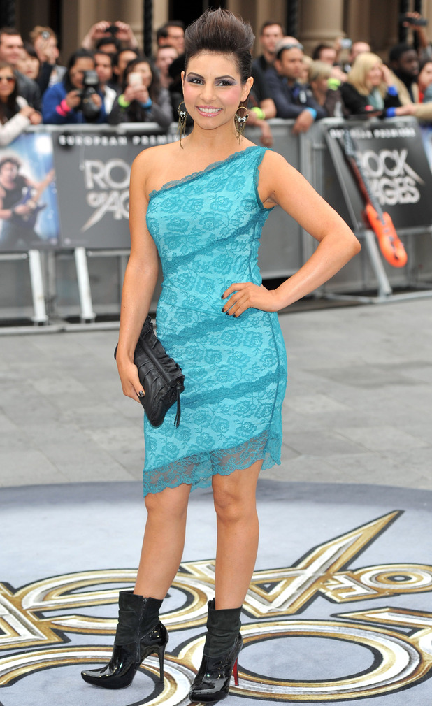 Rock of Ages UK Premiere: Roxanne Pallett