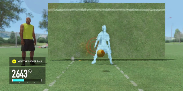'Nike+ Kinect Trainer' screenshot