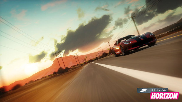 Gaming: Forza Horizon screenshots
