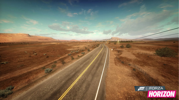 <em>Forza Horizon</em> screenshot