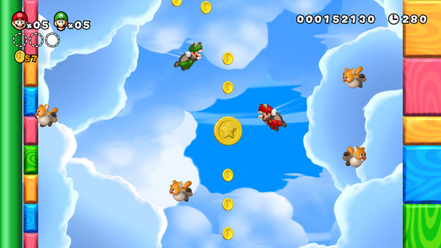 Super Mario Bros (Wii U) screenshot