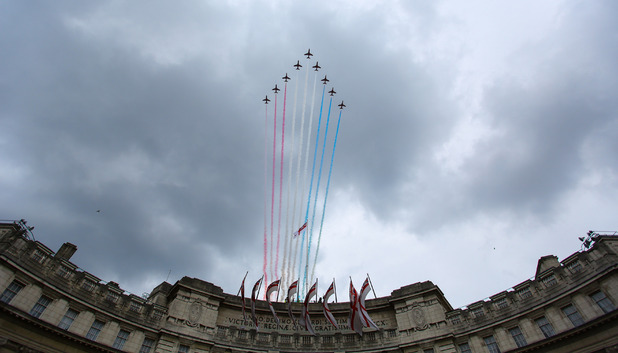 The Red Arrows RAF