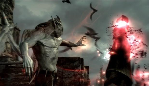 Skyrim Dawnguard DLC screenshots