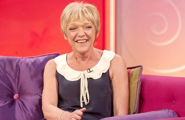 Gillian Wright appears on 'Lorraine Live'