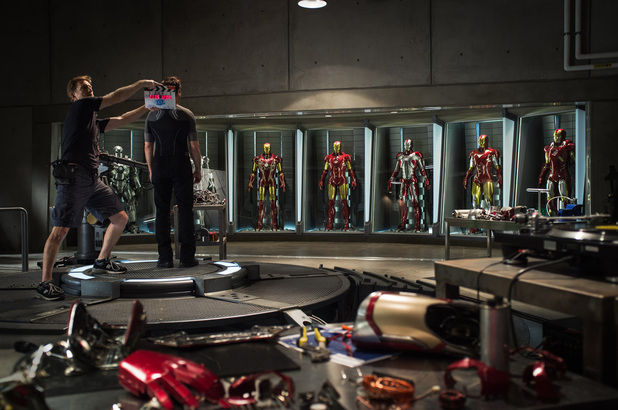 Iron Man 3 on-set photo