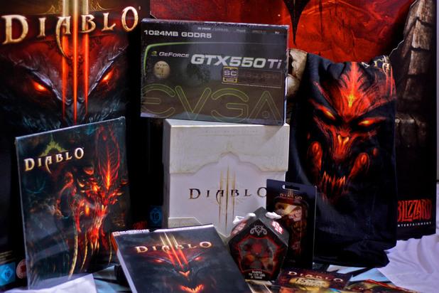 Diablo III prize bundle