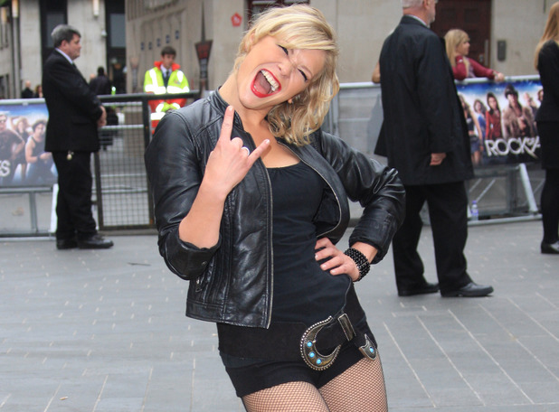 Rock of Ages UK Premiere: Suzanne Shaw