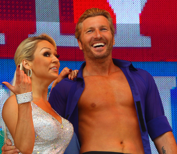 Kristina Rihanoff and Robbie Savage