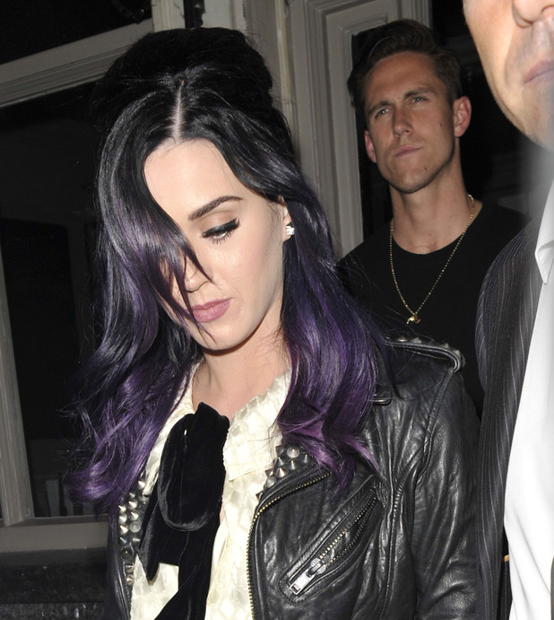 Katy Perry and Rob Ackroyd