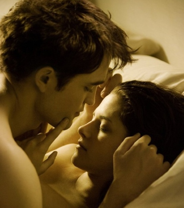 Robert Pattinson, Kristen Stewart, Breaking Dawn
