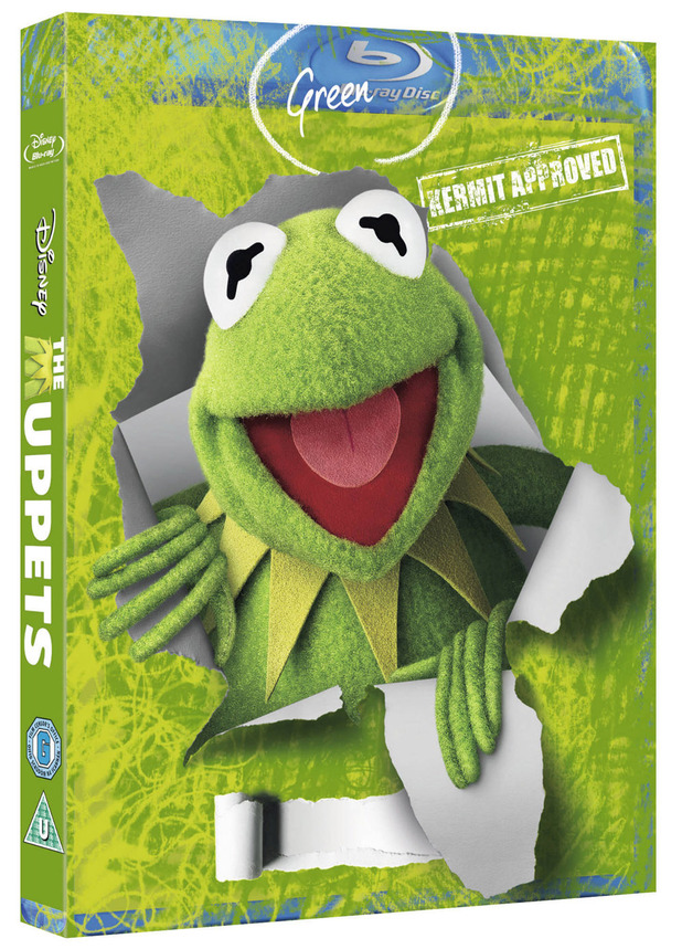 'The Muppets' Green-ray / Blu-Ray