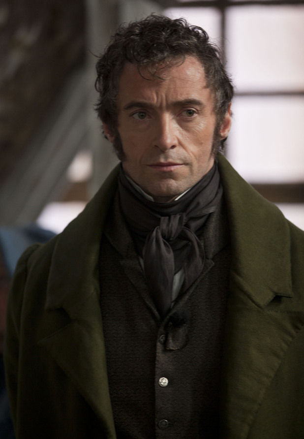 Hugh Jackman as Jean Valjean