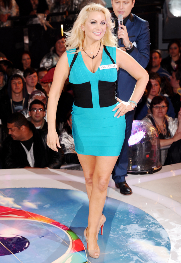 Victoria Eisermann enters the Big Brother house in June 2012