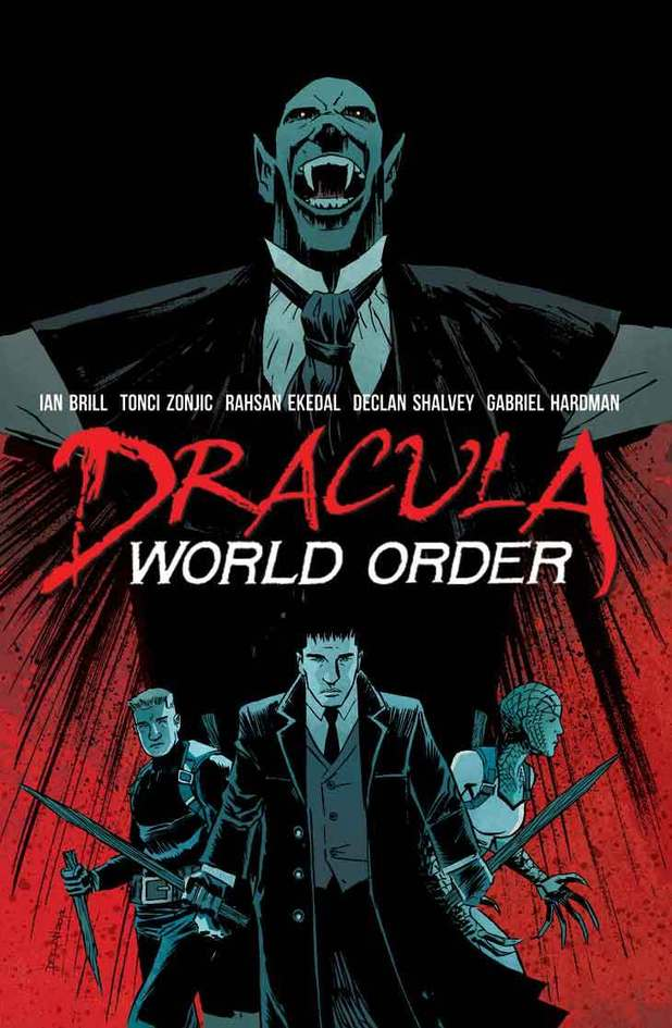 'Dracula: World Order' cover