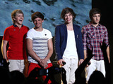 One Direction perform live at Planet Hollywood Resort Casino for the Theatre of Performing Arts, Las Vegas.