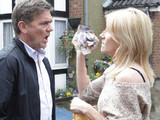 Stella confronts Karl over the money and tells him its over between them