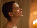 The actress also discusses the pressure of singing 'I Dreamed a Dream'.