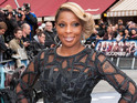 Mary J Blige says she drew on past experience to play her Rock of Ages role.