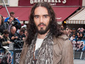 Russell Brand offers homeless man food and a bath in LA.