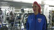 Jodie Marsh pumps iron with Digital Spy: 'Bodybuilding got me respect'
