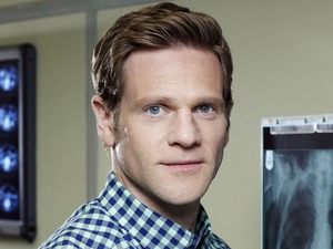Adam Astill as Dan Hamilton in Holby City