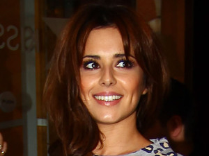 Cheryl Cole leaving Kiss FM London, England