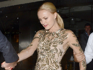 Malin Akerman 'Rock Of Ages' premiere after party at Roka restaurant - Departures London