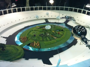 Olympics opening ceremony model