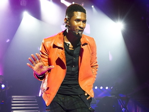 Usher performs at the Apollo Hammersmith