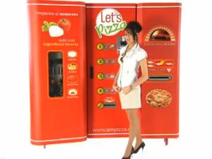 Let's Pizza vending machine