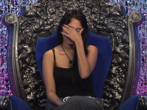 Big Brother Day 6: Deana in the diary room.