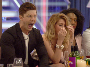 Big Brother 2012 Day 8: Luke S and Ashleigh.