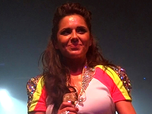 Cheryl Cole performs live at G.A.Y.