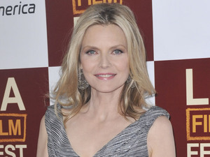 Michelle Pfeiffer at the premiere of 'People Like Us'.