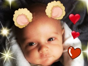 Peaches Geldof posts pictures of her baby on Instagram