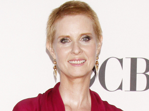Cynthia Nixon arriving at the 66th Annual Tony Awards in New York
